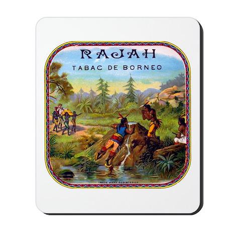 Rajah Cigar Label Mousepad
