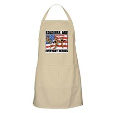 Soldiers are Heroes BBQ Apron
