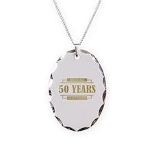 Stylish 50th Wedding Anniversary Necklace