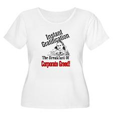 Greed Tastes Good! T-Shirt