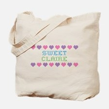Sweet CLAIRE Tote Bag