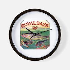 Royal Bass Cigar Label Wall Clock