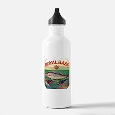 Royal Bass Cigar Label Water Bottle