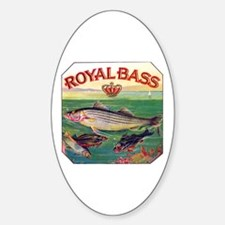 Royal Bass Cigar Label Decal