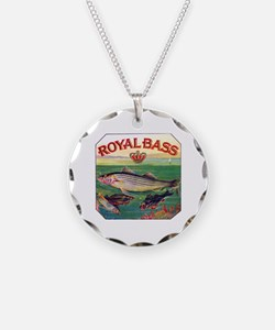 Royal Bass Cigar Label Necklace