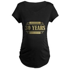 Stylish 30th Wedding Anniversary T-Shirt