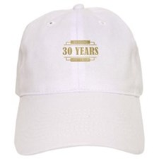 Stylish 30th Wedding Anniversary Baseball Cap