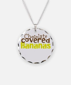 Chocolate Covered bananas Necklace