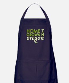 'Home Grown In Oregon' Apron (dark)