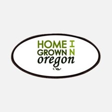 'Home Grown In Oregon' Patches