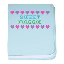 Sweet MAGGIE baby blanket