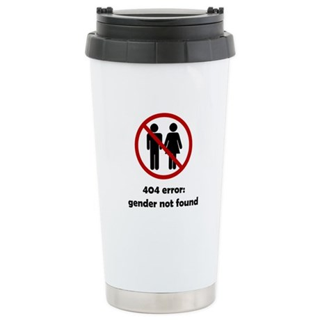 Gender Not Found Stainless Steel Travel Mug