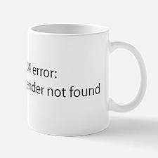 Gender Not Found Mug