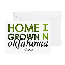 'Oklahoma' Greeting Card
