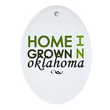 'Oklahoma' Ornament (Oval)