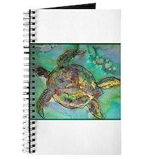 Sea Turtle, nature art, Journal