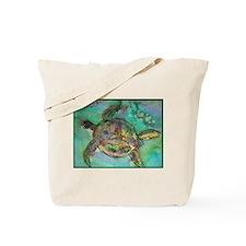 Sea Turtle, nature art, Tote Bag