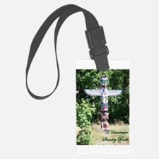 Totem Pole Stanley Park Vancouver Luggage Tag