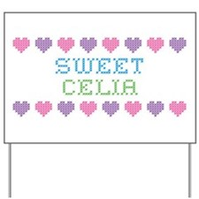 Sweet CELIA Yard Sign