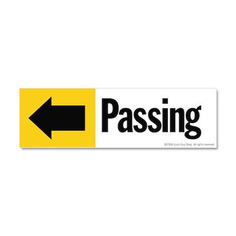 1 of 2: Passing Car Magnet 10 x 3