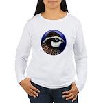 Bobwhite Quail 2 Women's Long Sleeve T-Shirt