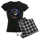 Bobwhite Quail 2 Women's Dark Pajamas