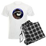 Bobwhite Quail 2 Men's Light Pajamas