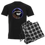 Bobwhite Quail 2 Men's Dark Pajamas
