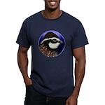Bobwhite Quail 2 Men's Fitted T-Shirt (dark)