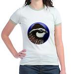 Bobwhite Quail 2 Jr. Ringer T-Shirt