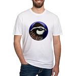 Bobwhite Quail 2 Fitted T-Shirt