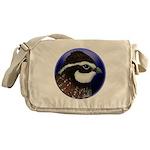 Bobwhite Quail 2 Messenger Bag