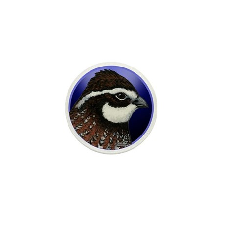 Bobwhite Quail 2 Mini Button (10 pack)