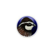 Bobwhite Quail 2 Mini Button