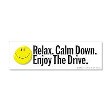 Enjoy The Drive Car Magnet 10 x 3