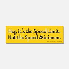 Speed Car Magnet 10 x 3