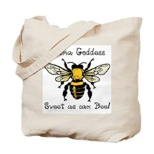 Mama Goddess Bee Tote Bag
