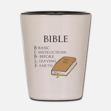 BIBLE Shot Glass