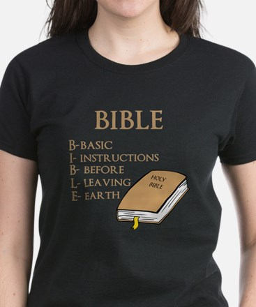 BIBLE Women's Dark T-Shirt