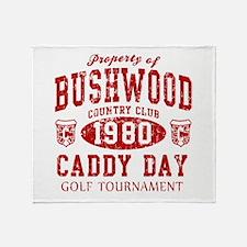 Caddyshack Bushwood CC Caddy Throw Blanket