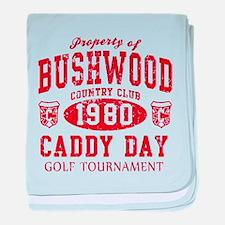 Caddyshack Bushwood CC Caddy baby blanket