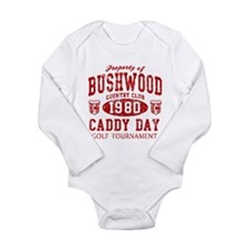 Caddyshack Bushwood CC Caddy Long Sleeve Infant Bo