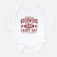 Caddyshack Bushwood CC Caddy Long Sleeve Infant Bo