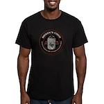 Men's Fitted Warm Dicken's Cider T-Shirt (dark)