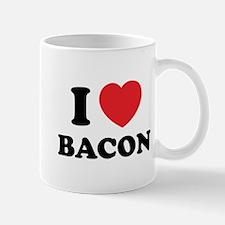 I love bacon Mug