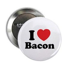 "I love bacon 2.25"" Button"