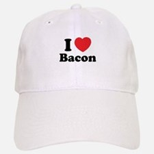 I love bacon Baseball Baseball Cap