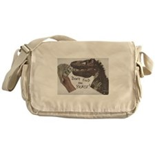 Don't Feed the Beast! Messenger Bag