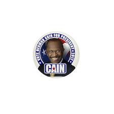 Vote Cain Mini Button
