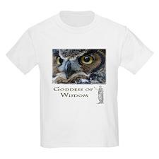 Goddess of Wisdom Kids T-Shirt
